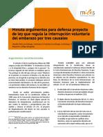 Defensa Del Proyecto de Ley 21.030 IVE en Tres Causales