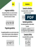 Resumen Series y Progresiones | ROBERT QUILLCA PACCO