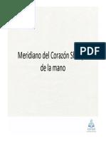 17_Meridiano Del Corazn Shaoyin de La Mano