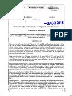 Resolución 3246 de 2018 (Cinta Retroreflectivas)
