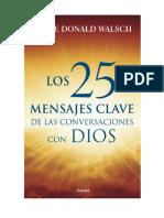 Los 25 Mensajes Clave de Las Co - Walsch