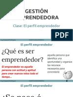 Clase 1 Perfil Emprendedor