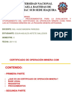 74618835 Certificado de Operaciones Mineras Converted