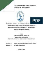 Re Maestria Edu Ana.anticona El.metodo.jigsaw.y.su.Eficacia.en.El.aprendizaje Datos