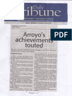 Daily Tribune, June 6, 2019, Arroyo's achievements touted.pdf