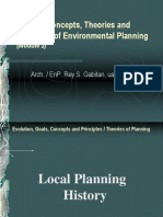 UAP Planning Seminar 2010 Module 2 Local Planning History