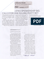 Manila Times, June 6, 2019, Opposition eyes Speakership bid calls for one ruling party bet.pdf