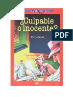 Desvela El Misterio 09 Culpable o Inocente
