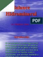 Balance Hidromineral