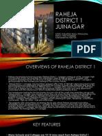 Raheja District 1 Juinagar.pptx
