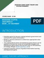 REPORT IE 694(183190014)