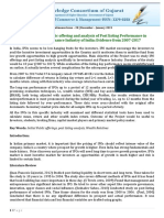 Research Paper on IPO