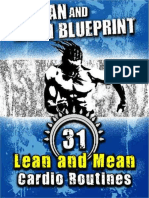 Lean and Mean Blueprint_ 31 Lean and Mean Cardio Routines, The - Travis Stoetzel