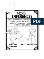 Make Inferences in Reading a Text