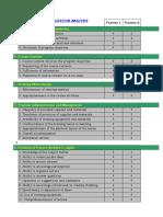 Program Evaluation Analysis Sample Computation