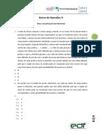 BQ 9 Classificação Materiais CFQ 1112 Sol