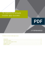 White Paper 16 Metrics Every Mobile Team Should Monitor
