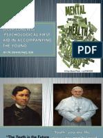 SPCEM CONGRESS - Psychological First-Aid 2