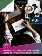 5 Errores de Diseño Blog