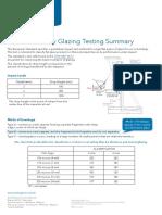 En 12600 Safety Glazing Testing Summary PDF0360SGTSINT