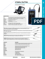 PH Meter With Rugged Stainless Steel Probe - IQ150