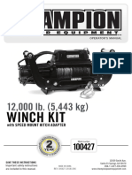 Chamion 12000# Winch Om English 1