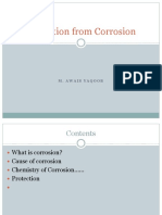 Protection of Metals From Corrosion