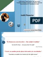 Audit Financiar - Curs 3-4
