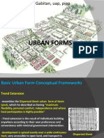 UAP Planning Seminar 2010 Module 4 Urban Forms