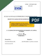 Examen Dossier de Soumission Palouki Kao (2019-2020)