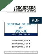 General Study Ssc Je