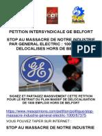Une pétition lancée par l'intersyndicale de Belfort