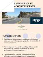 Geosynthetics in Pavement Design