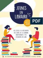 Plaquette Jeunes en Librairie 2019