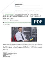 Python Network Programming - Part 1_ Build 7 Python Apps Udemy Download Free _ FreeTutorials.us