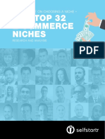 Expert Advice on Choosing a Niche Our Top 32 e Commerce Niches Research and Analysis