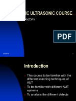 Automatic Ultrasonic Course