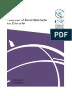Processos de Descentralizacao Em Educacao Livro