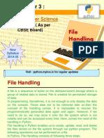 Data File Handling Notes