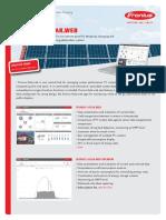 Solar spreadsheet