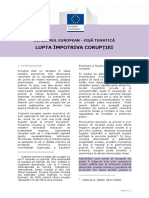 European Semester Thematic Factsheet Fight Against Corruption Ro
