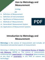 Principles of Measurements