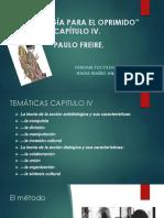 capitulo 4 pedagogia del oprimido Pauleo Freire