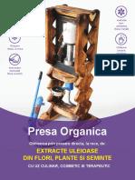 Prezentare Presa Organica Pentru Ulei Sava Raul
