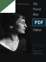 Anna Akhmatova - Selected Poems