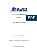 Mobile Air Conditioning Device - 24 Pages