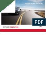 Manual de Utilização C4 Lounge