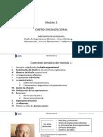 Clase 2 - Diseño Organizacional