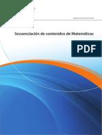 Secuenciación de contenidos de Matemáticas.pdf
