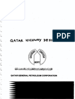 Qatar Highway Manual 1997